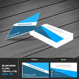 Business card or visiting card template Royalty Free Stock Photography