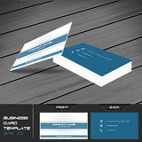 Business card or visiting card template Stock Images