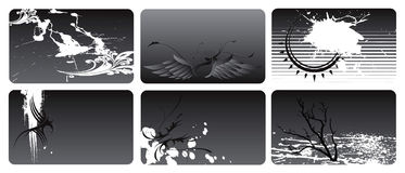 Business cards 1 Royalty Free Stock Image