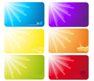 Business cards Stock Images