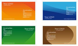 Business cards Royalty Free Stock Images