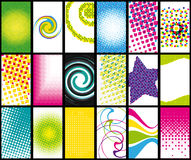 Business cards. Business cards collection. Modern and dynamic designs vector illustration