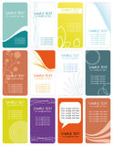 Business cards_2 Stock Photography