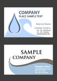 Business cards 3. 2 samples of business card design in vector format Stock Photography