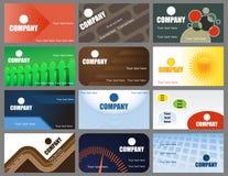 Business cards 3 Stock Photos
