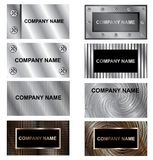 Business cards background Stock Image