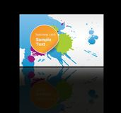 Business cards background design Stock Photography