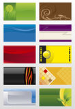 Business cards backgrounds Royalty Free Stock Photo