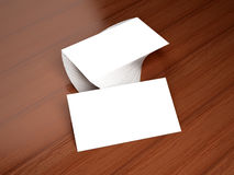 Business cards blank mockup Royalty Free Stock Photography
