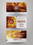 Business cards with blurred abstract background Royalty Free Stock Photography