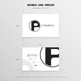 Business Cards Design Template. Name Cards Symbol. Size 55 mm x. 90 mm 2.165 in x 3.54 in.Vector illustration Royalty Free Stock Photos