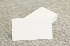 Business cards left Stock Photos