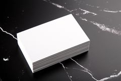 Business cards mock up Royalty Free Stock Images