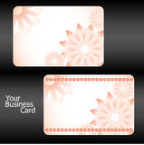 Business cards, part 15. Business cards with flowers, part 15, illustration additional stock illustration