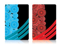 Business cards, part 5 Royalty Free Stock Photography
