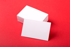 Business cards. Photo. Template for branding identity. For graphic designers presentations and portfolios Stock Photos