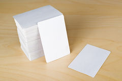 Business cards with rounded corners Royalty Free Stock Photos