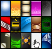 Business cards (set 10) Royalty Free Stock Photography