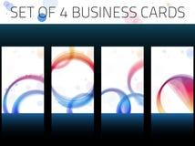 Business Cards Set Stock Photos