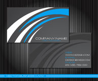Business cards set Stock Photography