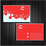 Business cards set 24 Royalty Free Stock Photo