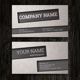 Business cards set. Royalty Free Stock Image