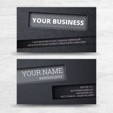 Business cards set. Stock Photo