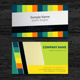 Business cards set. Stock Photography