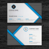 Business cards set. Royalty Free Stock Photo