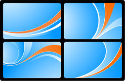 Business cards set3 Stock Images