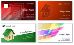 Business cards template Stock Image