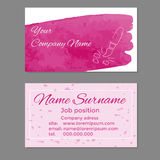 Business cards template Royalty Free Stock Photo