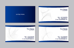 Business cards templates Royalty Free Stock Photography