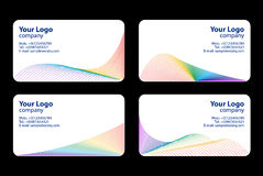 Business cards templates Stock Image