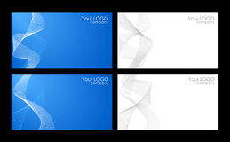 Business cards templates Royalty Free Stock Photos