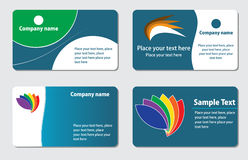 Business cards templates royalty free stock photo