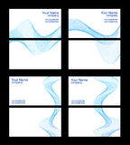 Business cards templates, front and back Stock Image