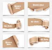 Business Cards. Vector Stock Image