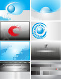 Business cards vector eps10 Stock Images