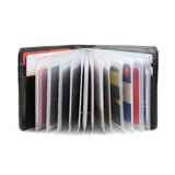 Business cards in wallet Stock Images