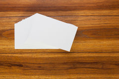 Business cards. Stock Image