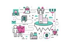 Business Career illustrations Stock Photos