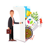 Business career opportunity concept Stock Image