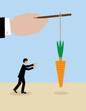 Business Carrot Stock Image