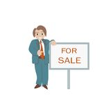 Business Cartoon Royalty Free Stock Photo