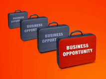 Business  case. Write on it  Business Opprtunity Royalty Free Stock Photos