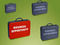 Business  case. Write on it  Business Opprtunity Stock Images