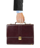 Business case in hand Royalty Free Stock Photography
