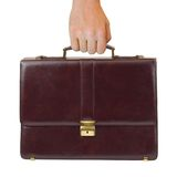 Business Case In Hand Royalty Free Stock Photos