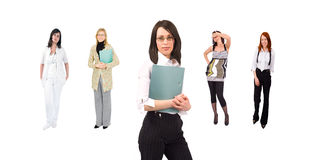 Business and casual people concept Stock Images